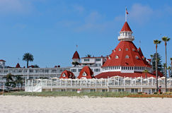 Hotel Del Coronado Stock Photography