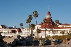 Hotel Del Coronado Lizenzfreie Stockfotos
