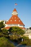hotel del Coronado 免版税库存图片