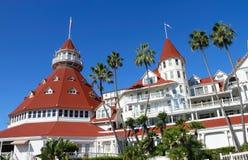 Hotel Del coronado Zdjęcia Royalty Free