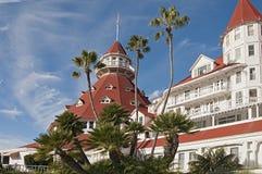 Hotel Del Coronado Stock Afbeelding