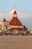 Hotel Del Coronado, Califórnia Fotos de Stock Royalty Free