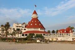 Hotel Del Coronado, Califórnia Foto de Stock Royalty Free