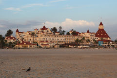 Hotel Del Coronado, Califórnia Fotografia de Stock Royalty Free