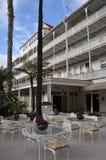 Hotel del Coronado in Californië Stock Foto