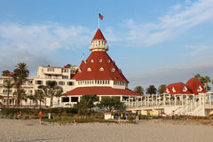Hotel Del Coronado, Californië Royalty-vrije Stock Foto