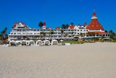 Hotel Del Coronado em San Diego Imagens de Stock