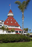 Hotel Del Coronado in San Diego, California, USA Stock Photography