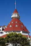 Hotel Del Coronado in San Diego, California, USA Royalty Free Stock Photos