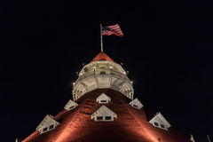 Hotel del Coronado at San Diego Royalty Free Stock Photography