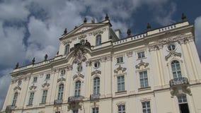 Hotel del cuadrado de Sheraton ChaRTes, Praga almacen de video