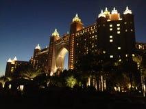Hotel del Dubai Atlantide Immagini Stock Libere da Diritti