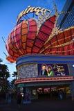 Hotel del fenicottero sulla striscia di Las Vegas Immagine Stock