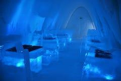 Hotel del ghiaccio Fotografia Stock