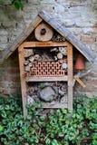 Hotel del insecto Fotos de archivo libres de regalías