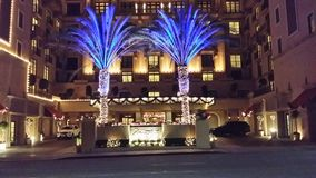 Hotel del montaggio in Beverly Hills, Ca Fotografie Stock