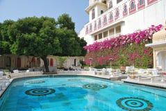 Hotel del palacio de la ciudad de Udaipur Fotos de archivo