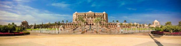Hotel del palacio de los emiratos imágenes de archivo libres de regalías
