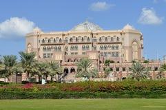 Hotel del palazzo degli emirati Fotografia Stock Libera da Diritti