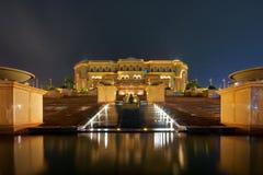 Hotel del palazzo degli emirati Immagini Stock Libere da Diritti
