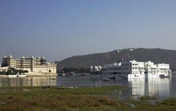 Hotel del palazzo del lago, Udaipur, India Fotografia Stock Libera da Diritti