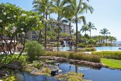 Hotel del patio Fotos de archivo libres de regalías