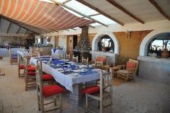 Hotel del sale per i turisti sugli appartamenti del sale di Uyuni Fotografie Stock
