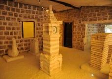 Hotel del sale per i turisti sugli appartamenti del sale di Uyuni Fotografia Stock Libera da Diritti
