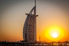 Hotel dell'Al-arabo di Burj, Dubai, Emirati Arabi Uniti Immagini Stock Libere da Diritti