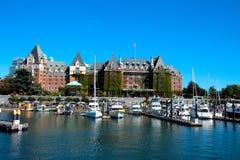 Hotel dell'imperatrice, Victoria B.C immagini stock libere da diritti