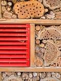 Hotel dell'insetto Fotografia Stock Libera da Diritti