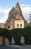 Hotel della caverna. Cappadocia, Turchia Fotografia Stock Libera da Diritti