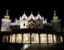 Hotel della città di notte Fotografia Stock