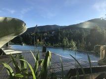 Hotel della collina verde, immagini stock