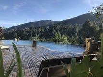 Hotel della collina verde, immagine stock