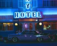 Hotel della colonia a Miami Immagine Stock Libera da Diritti