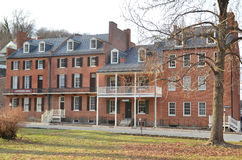 Hotel della guerra civile Fotografia Stock