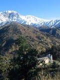Hotel della montagna Fotografia Stock Libera da Diritti