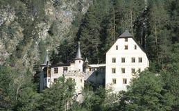 Hotel della montagna Immagine Stock