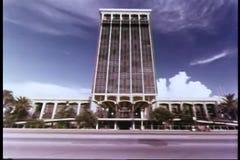 Hotel della panoramica a Miami, Florida stock footage