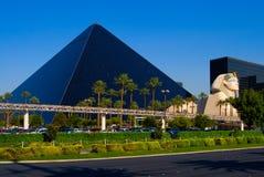 Hotel della piramide a Las Vegas fotografie stock