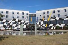 Hotel della pista di corsa in Oschersleben, Germania Immagine Stock