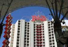 Hotel della plaza sulla via di Fremont Fotografia Stock