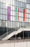 Hotel della reggenza di Hyatt a Dusseldorf Immagine Stock