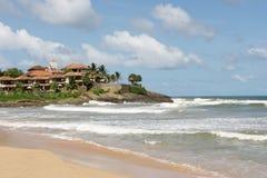 Hotel della spiaggia Fotografie Stock Libere da Diritti