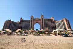 Hotel di Atlantide nel Dubai Immagine Stock Libera da Diritti