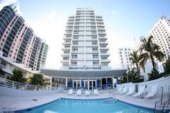 Hotel delle palme reali fotografia stock