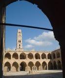 Hotel der mittelalterlichen Pilgerfahrt Stockbild