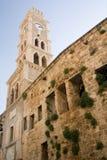 Hotel der mittelalterlichen Pilgerfahrt Lizenzfreies Stockbild