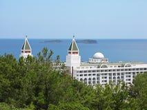 Hotel in der Türkei Lizenzfreies Stockfoto